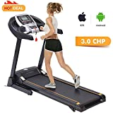 3.0 HP Fitness Folding Electric Support Motorized Power Jogging Treadmill Walking Running Machine Incline Trainer Equipment [US Stock]