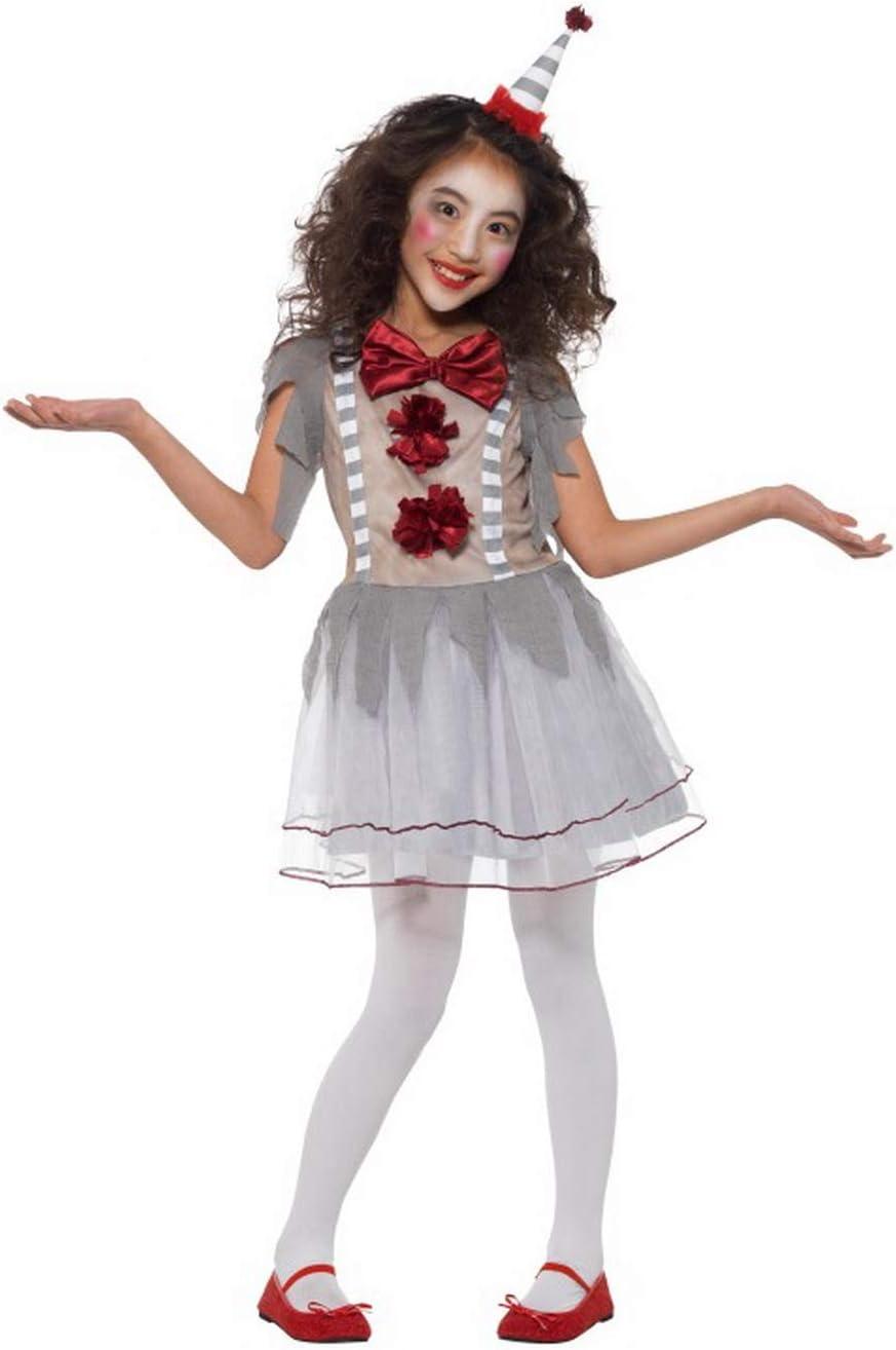Fancy Ole – Disfraz de Payaso Retro para niña en Estilo arlequín ...