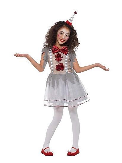 Disfraz de Payaso Retro de Halloween para niña, Estilo ...