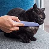 benefit-X 8.271.420.39in Cat Tongue Comb Pet Grooming Tool with Two Ends Design Simulated cat Tongue Cat Brush Tools Slicker Pet Grooming Brush