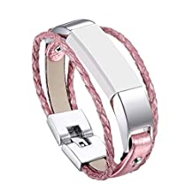 Bands for Fitbit Alta / Fitbit Alta HR, ULT-unite Replacement Silicone Colorful Band Design with Adjustable Metal Clasp, Prevent Tracker Falling Off(No tracker, Replacement Bands Only)