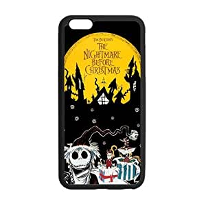 The Nightmare Before Christmas Cell Phone Protector for iPhone 6(4.7) Plastic and TPU (Laser Technology)