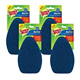 Scotch-Brite Shower Scrubber Refill, Pack of 4