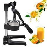 Z ZTDM Commercial Manual Citrus Juicer , Heavy Cast Iron Steel Base and Stainless Steel Bowl for Orange Citrus Lemon Fruit Blender