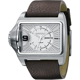 Diesel DZ1314 - Reloj analógico de cuarzo para mujer, correa de cuero color marrón: Amazon.es: Relojes
