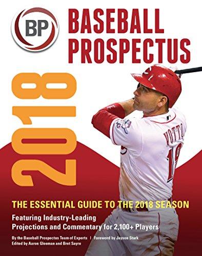 Baseball Prospectus 2018 (Best Fantasy Baseball Team)