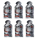 Accel Gel Rapid Energy Gel - Chocolate - 6 Pack (6 x 1.3oz Packs)