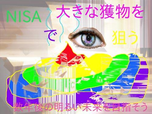 NISA de ookina emono wo nerau sunengo no akarui mirai wo mezasou (Japanese Edition)