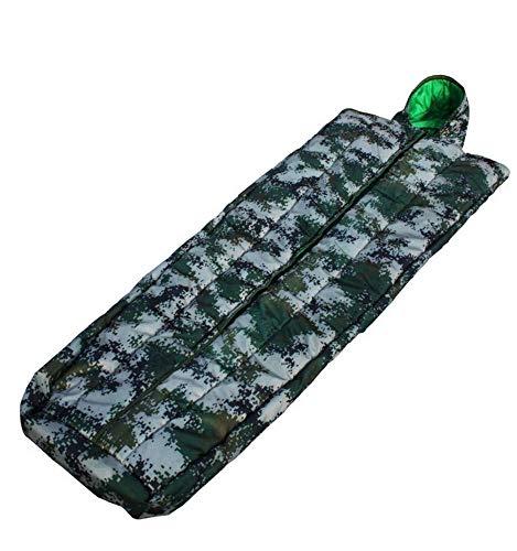 Sport Camouflage Coat Sleeping Bag Individual Soldier Thicken Camouflage Sleeping Bag Outdoor Explorer Sleeping Warm Sleeping Bag