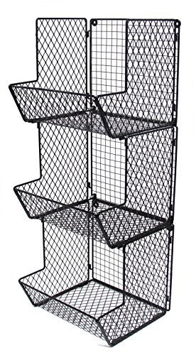 wire basket fruit stand - 7