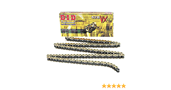 DID chain with Clip Lock x Open Ring 428/VX 126/links