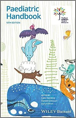 Paediatric Handbook, 10th Edition - Original PDF
