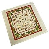 "Red & White Kitchen Co Vintage Reproduction California Souvenir Kitchen Towel,22"""