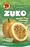 Zuko Instant Powder Drink, Passion Fruit, 14.1-Ounce (Pack of 6)