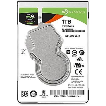 Seagate Firecuda Gaming 1TB 2.5-Inch SATA 6GB/s 5400rpm 128 MB Cache Internal Hard drive ST1000LX015