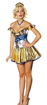Dreamgirl Trophy Wife Costume (Small)  sc 1 st  Amazon.com & Amazon.com: Dreamgirl Trophy Wife Costume: Clothing
