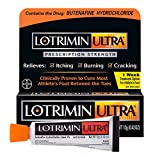 Lotrimin Ultra 1 Week Athlete's Foot Treatment, Prescription Strength Butenafine Hydrochloride 1%, Cures Most Athlete's Foot Between Toes, Cream.42 Ounce (12 Grams)