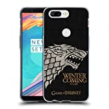 Official HBO Game Of Thrones Stark House Mottos Soft Gel Case for OnePlus 5T