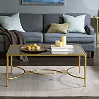 Madison Park Signature Turner Coffee Table Antique Gold See below