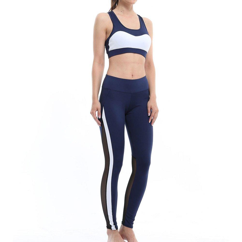 Joggers Donna Tuta a Vita Alta Pantalone in Cotone Elasticizzato Comodo Yoga Allenamento casa