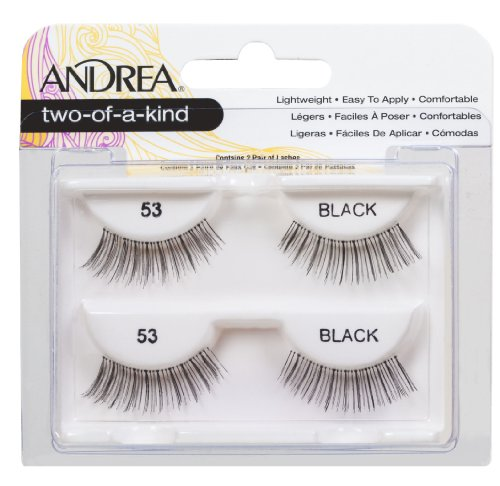 Andrea Twin Pack Lashes, 53, 0.04 Pound