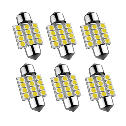 DE3175 31mm LED Interior Dome Light Map Bulb Door Courtesy For Car - 1.25 DE3021 DE3022 Festoon bulbs(6pcs/pack)