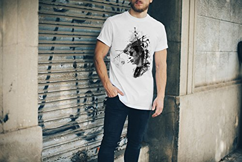 Jean-Paul Belmondo II Art T-Shirt Herren, Men mit stylischen Motiv von Paul Sinus