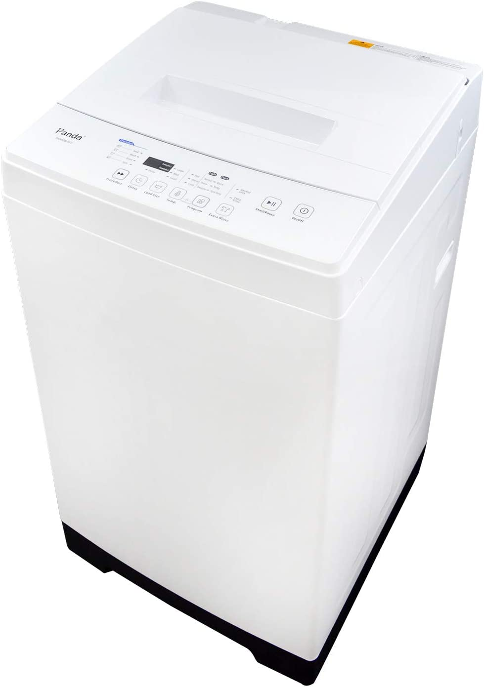 Panda PAN50SWF2 1.60cu.ft Compact Washer, High-End Fully Automatic Portable Washing Machine, 11lbs Capacity, Folding Window, White