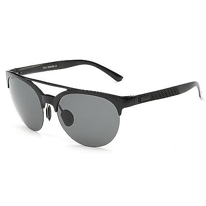 Peggy Gu Ojos de Gato Gafas de Sol polarizadas de Aluminio y Marco de magnesio Protección