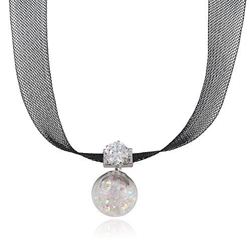 Xuping Choker Necklace Retro Burlesque Necklace Christmas M8-necklace-00132GW (Burlesque Jewellery)