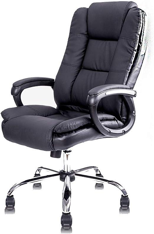 Sillas, silla de oficina Silla de oficina PU Cuero puede levantar ...