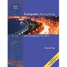 Computer Accounting with QuickBooks Pro 2010 (Spiral-bound)