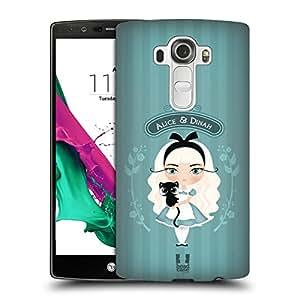 Head Case Designs Alice And Dinah Alice In Wonderland Hard Back Case for LG G4 / H815 / H810