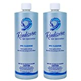 #9: Rendezvous Spa Specialties Hot Tub Natural Clear Enzyme Water Clarifier (2 Pack)