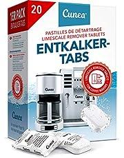 Ontkalkingstabletten voor koffieautomaten, 20 tabs, compatibel met alle machines