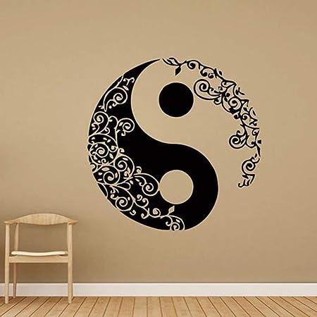 Zhuhuimin Mandala Tatuajes de Pared Yin Yang Yoga Studio Bohemian ...