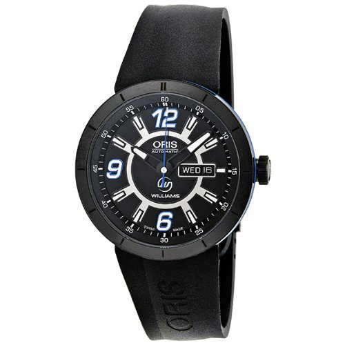 F1 Team Day Date Watch (Oris Men's 'TT1 diver' Swiss Stainless Steel and Rubber Automatic Watch, Color:Black (Model:)