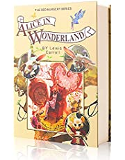 Real Paper Diversion Book Safe with Combination Lock Anti-Theft Safe Secret Box/ Money Hiding Box/ Collection Box-Alice In Wonderland
