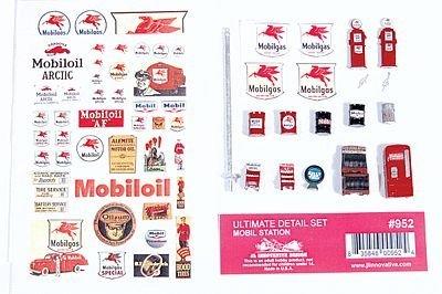 【在庫有】 HoスケールDecorated Ultimate Detail Set – Station - Mobil Gas Set Station – B006VZWYVQ, calzature エーワン:053fc6d5 --- a0267596.xsph.ru