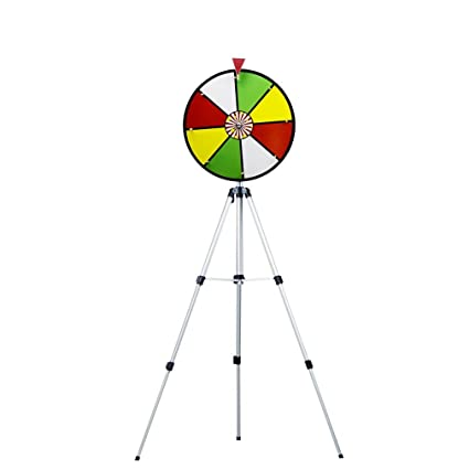 MIDWAY MONSTERS Color Dry Erase Prize Wheel with Stand, 16-Inch