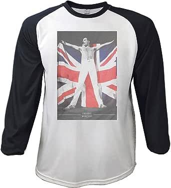 T-Shirt # M Unisex Black,White # Flag