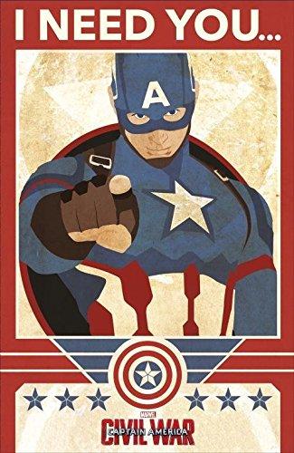 Captain America Civil War I Need You Birthday Card -