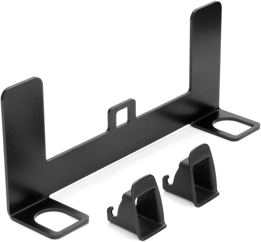 VISLONE Kit de montaje de anclaje universal para asiento infantil para automóvil para conector de cinturón ISOFIX (para coche general)