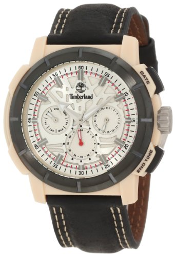 Timberland Men's TBL_13325JPBEB_04 Edgewood Analog Multifunction 3 Hands Day Date Dual Time Watch