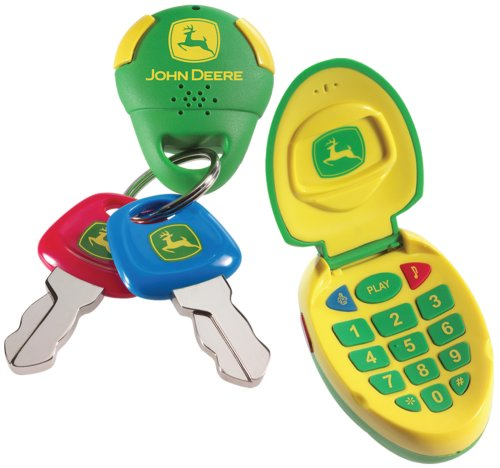 Amazon Com Learning Curve John Deere Cell Phone And Keys Set