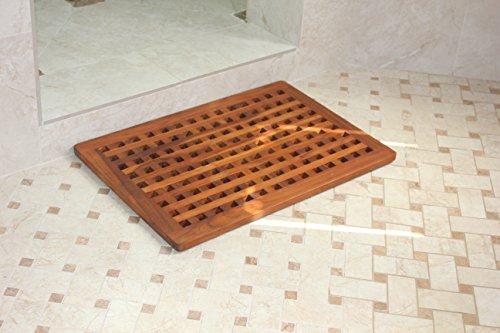 The Original Teak Grate Bath Shower Mat by AquaTeak (Image #5)