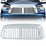 rbp accessories tundra - E-Autogrilles Chrome ABS Vertical Bar Replacement Grille Grill with Shell for 07-09 Toyota Tundra (41-0120)