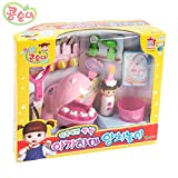 KONGSUNI Baby Hippo Dentist Play Set Sound Dental Brushing Teeth Toy For Kids
