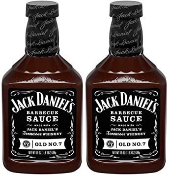 Details about Jack Daniel's BBQ Sauce, Original No. 7 Recipe,19oz, (pack of 2)