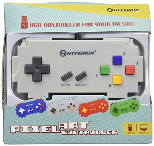 Hyperkin USB Pixel Art Controller (Gray Famicon) - PC/MAC/Linux